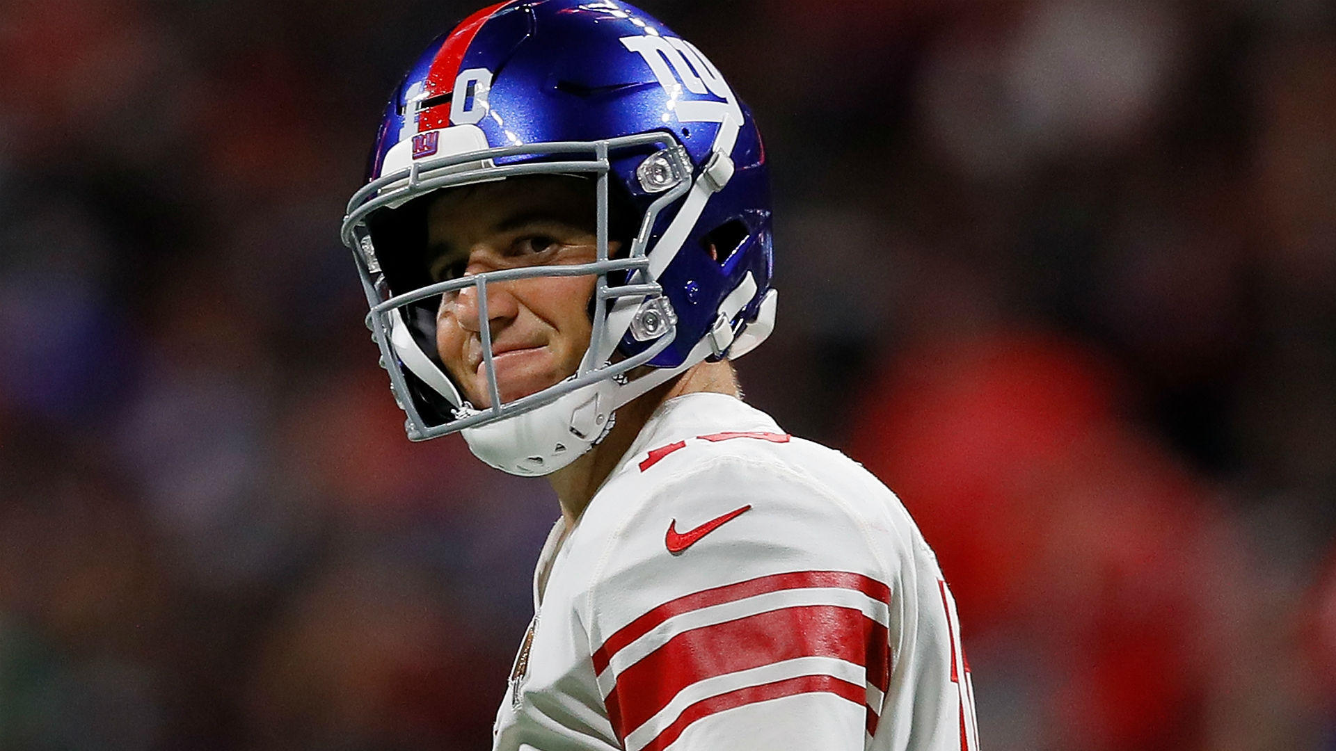 The New York Giants are keeping faith with Eli Manning for now and he is keen to repay the team with a win on Monday.