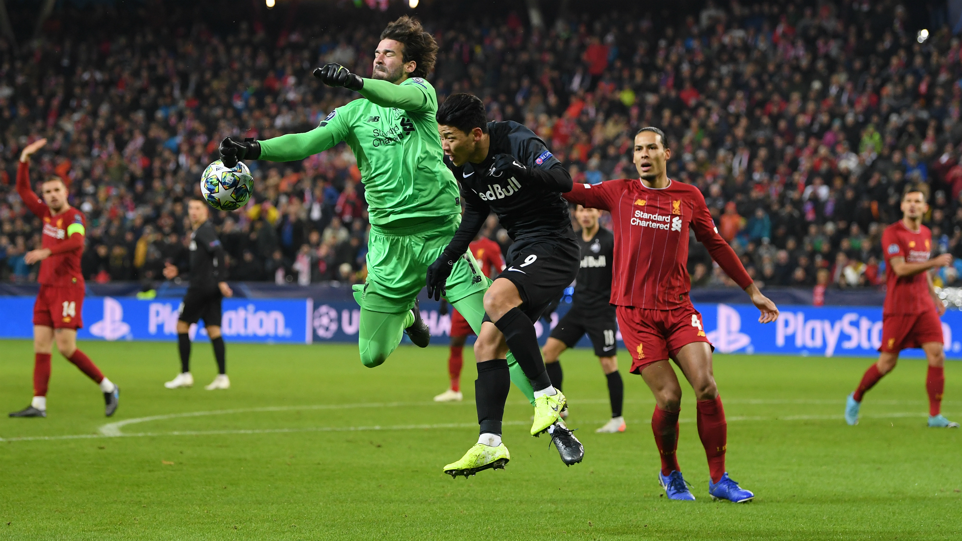 Liverpool have rediscovered the formula for keeping clean sheets and goalkeeper Alisson does not want those defensive standards to drop.