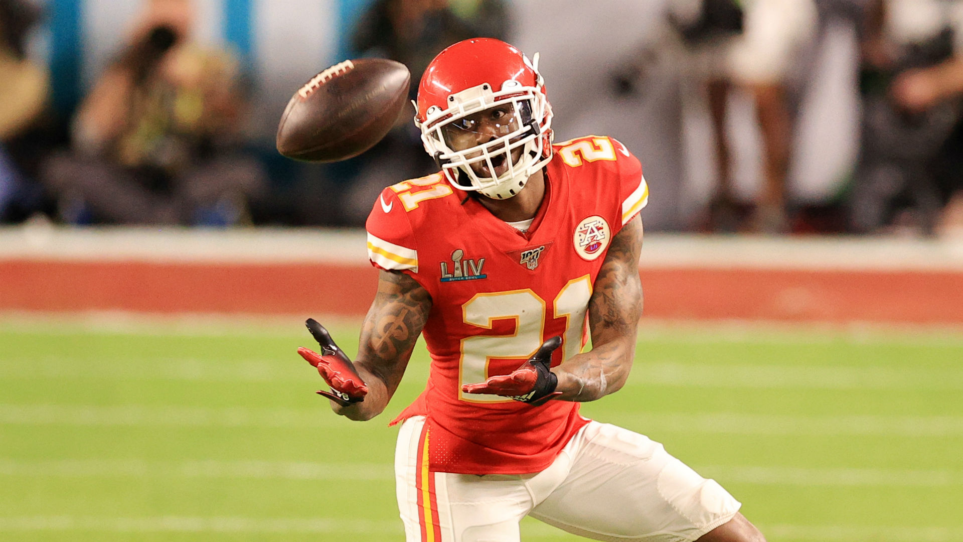 Bashaud Breeland will spend another year with the Kansas City Chiefs, who also brought in Ricky Seals-Jones.