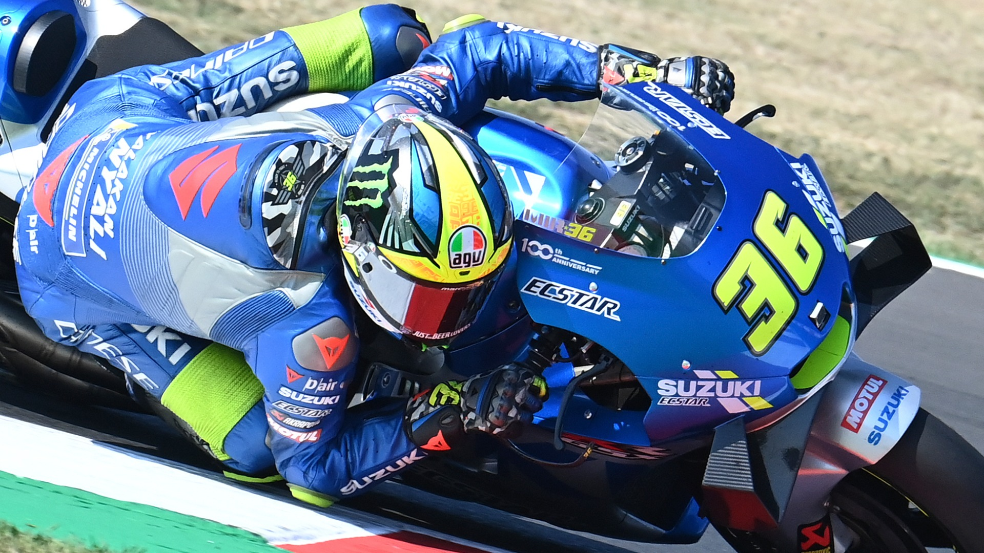 "Joan Mir's Suzuki GSX-RR is the ""perfect"" bike for a MotoGP title challenge, according to rival rider Fabio Quartararo."