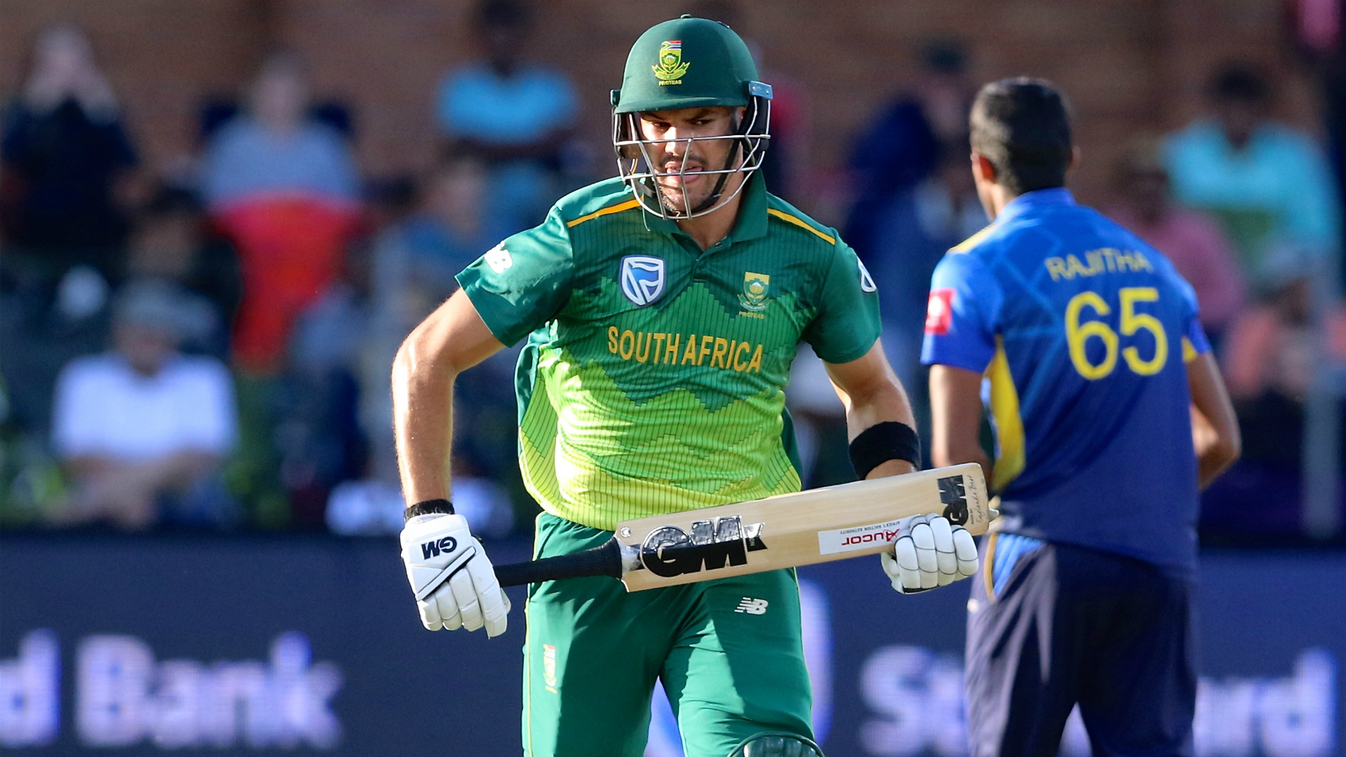 Markram guides SA to 5-0 series win