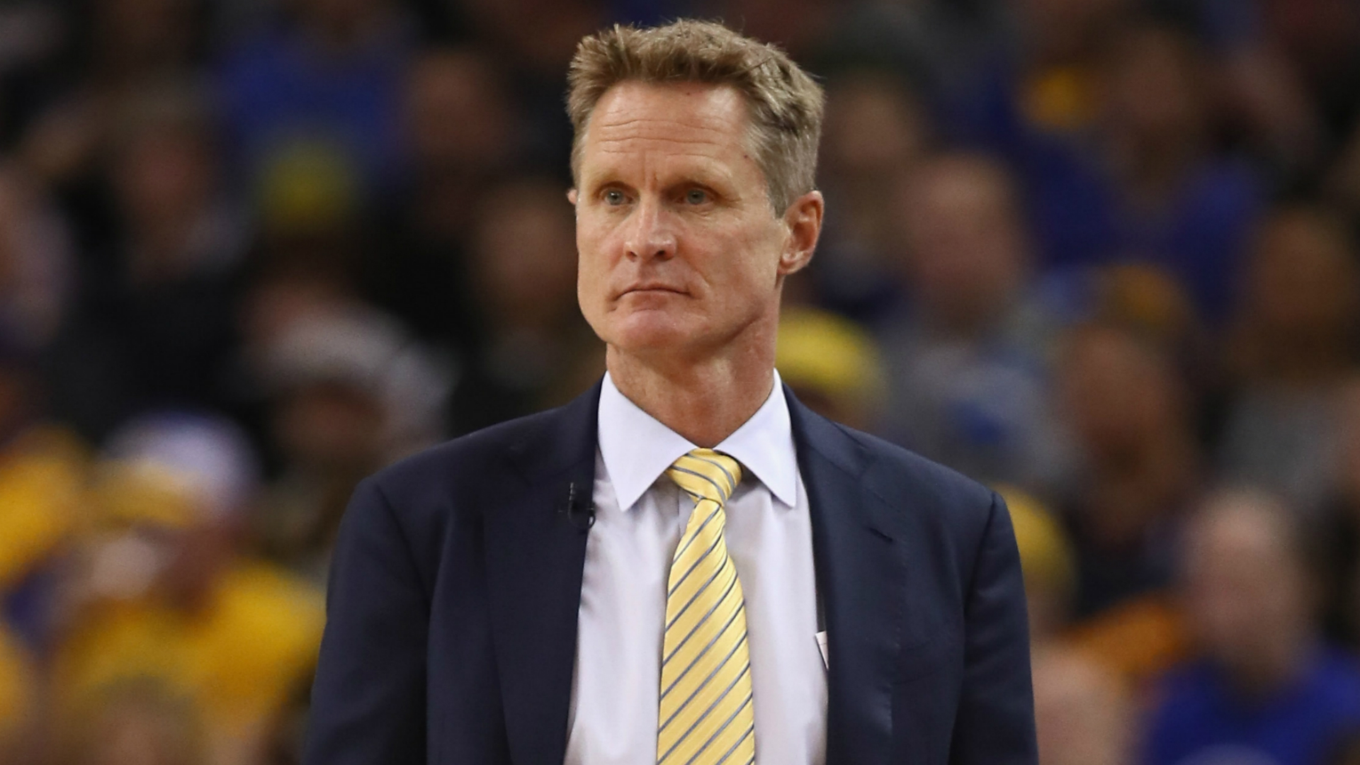 "The Golden State Warriors are finally dealing with ""real adversity"", according to coach Steve Kerr."
