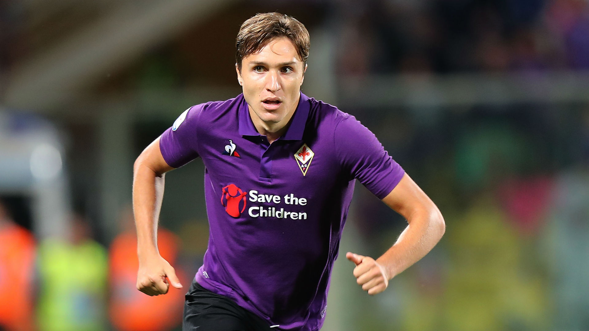 Chiesa happy at Fiorentina