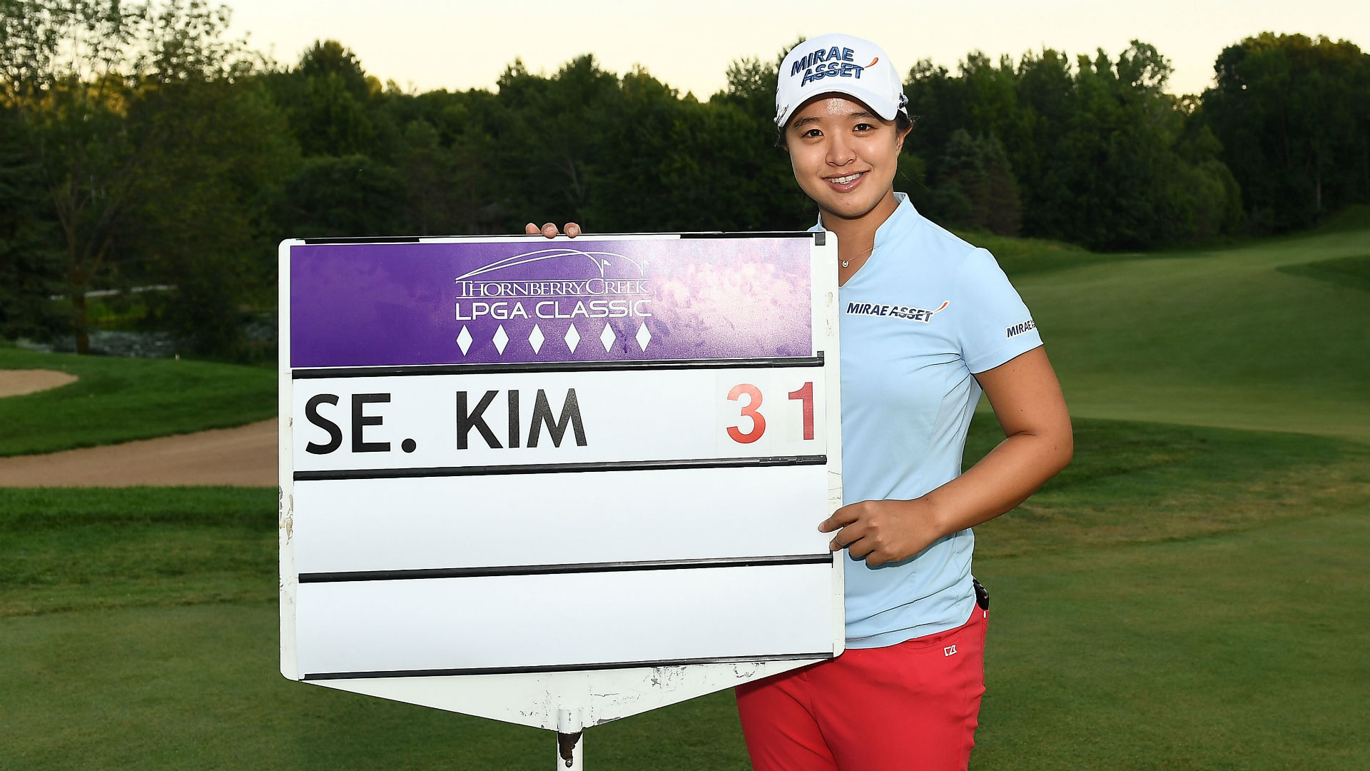 There was no stopping Kim Sei-young at the Thornberry Creek LPGA Classic, as she made history with a winning score of 31 under par.