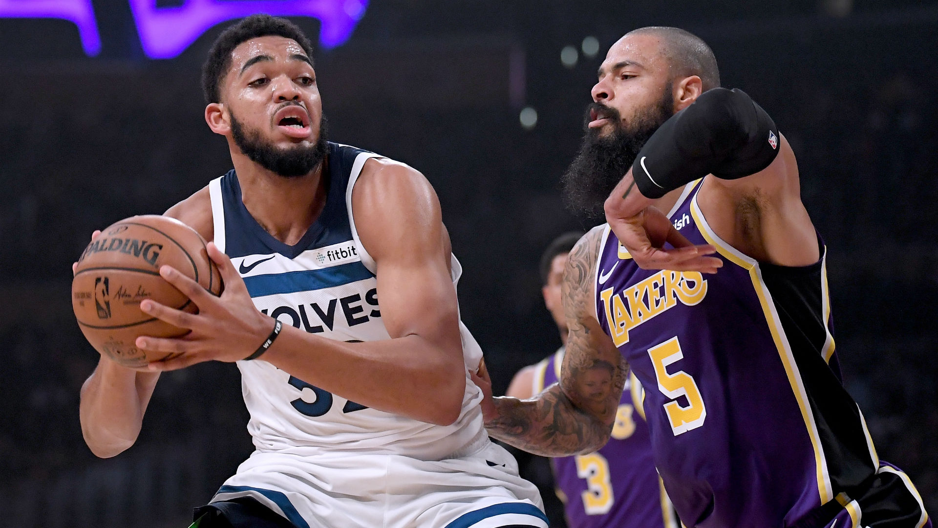 Tyson Chandler made an immediate impact on his Lakers debut and is relishing play alongside LeBron James.