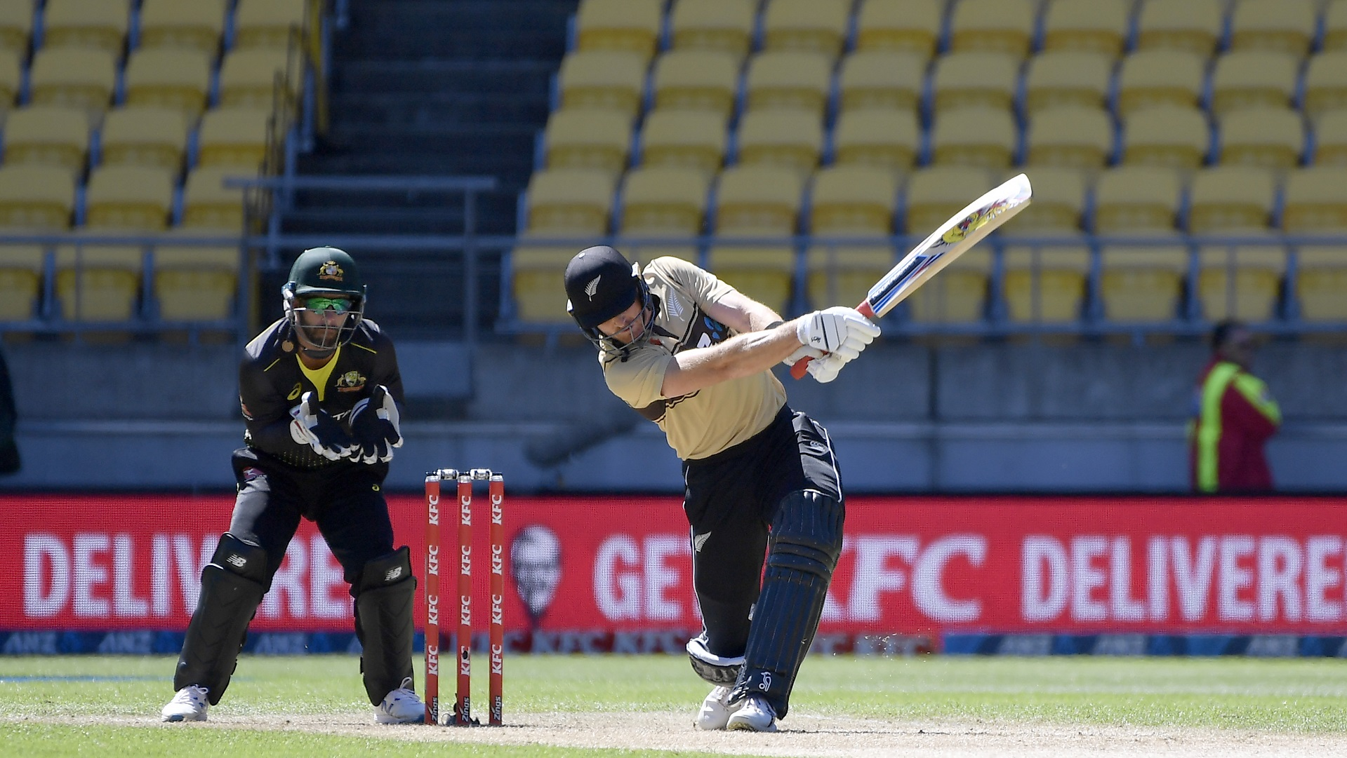 Martin Guptill and Ish Sodhi starred as New Zealand clinched a thrilling Twenty20 series triumph with a seven-wicket win.