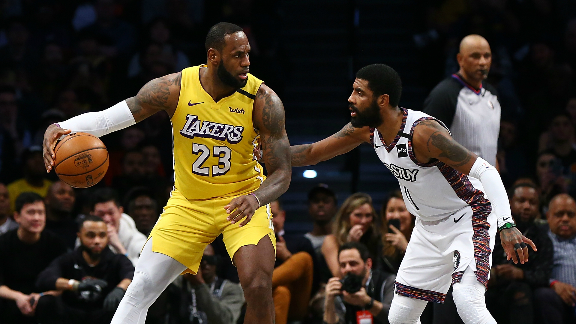 LeBron James outshone Kyrie Irving in Thursday's NBA action, while Luka Doncic and Damian Lillard put on a show in Portland.