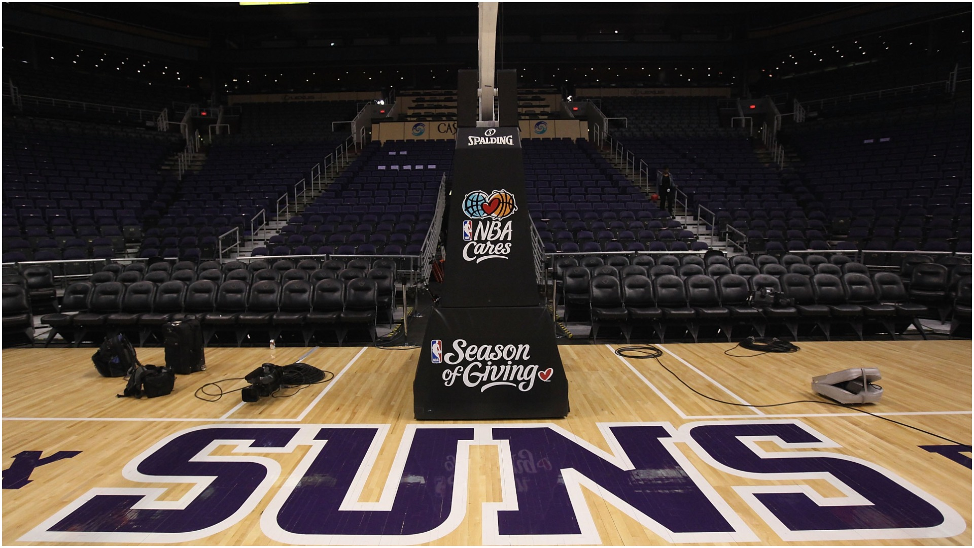 The NBA confirmed the Phoenix Suns do not have enough available players for Wednesday's game against the Atlanta Hawks.