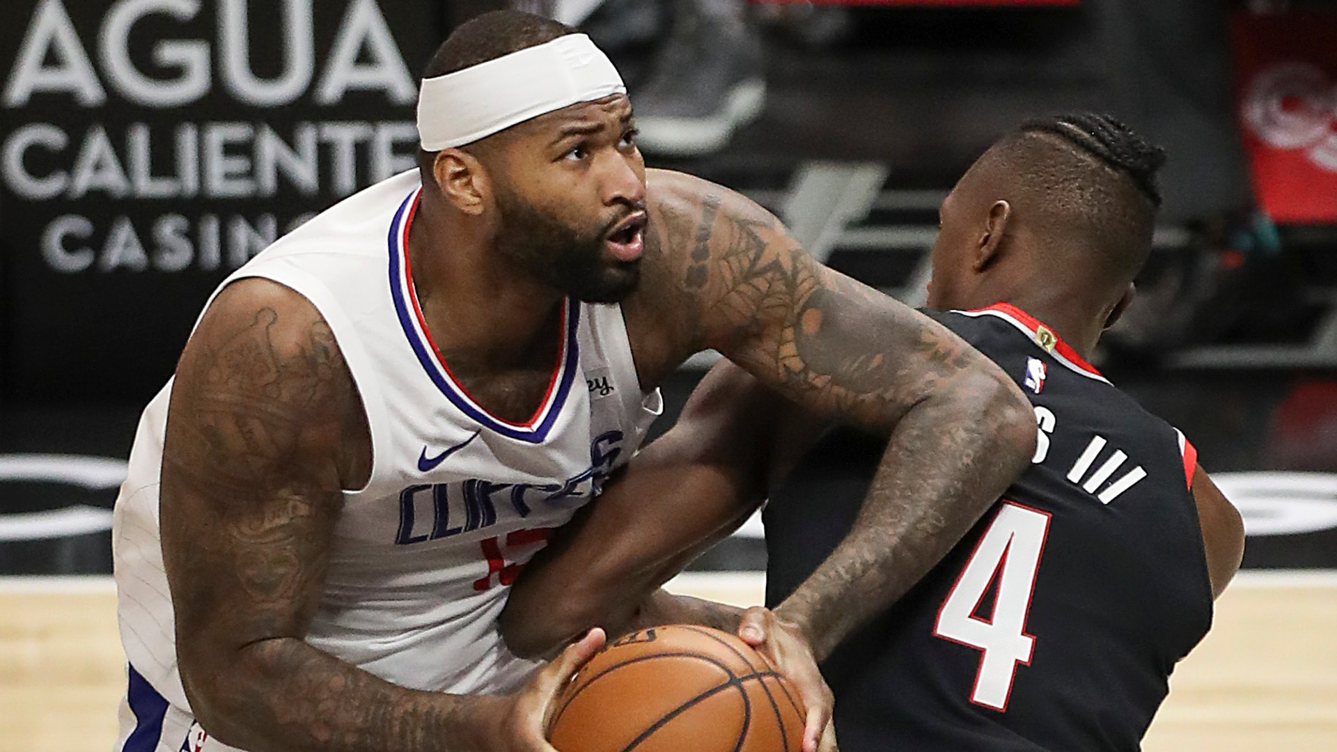 Center DeMarcus Cousins is determined to show he can still play at the highest level during his time with the Los Angeles Clippers