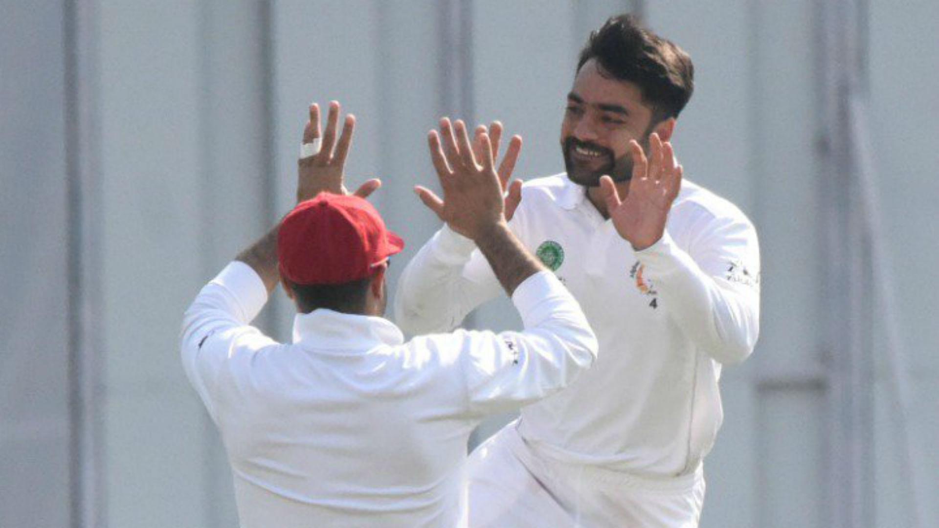 Rashid puts Afghanistan on course