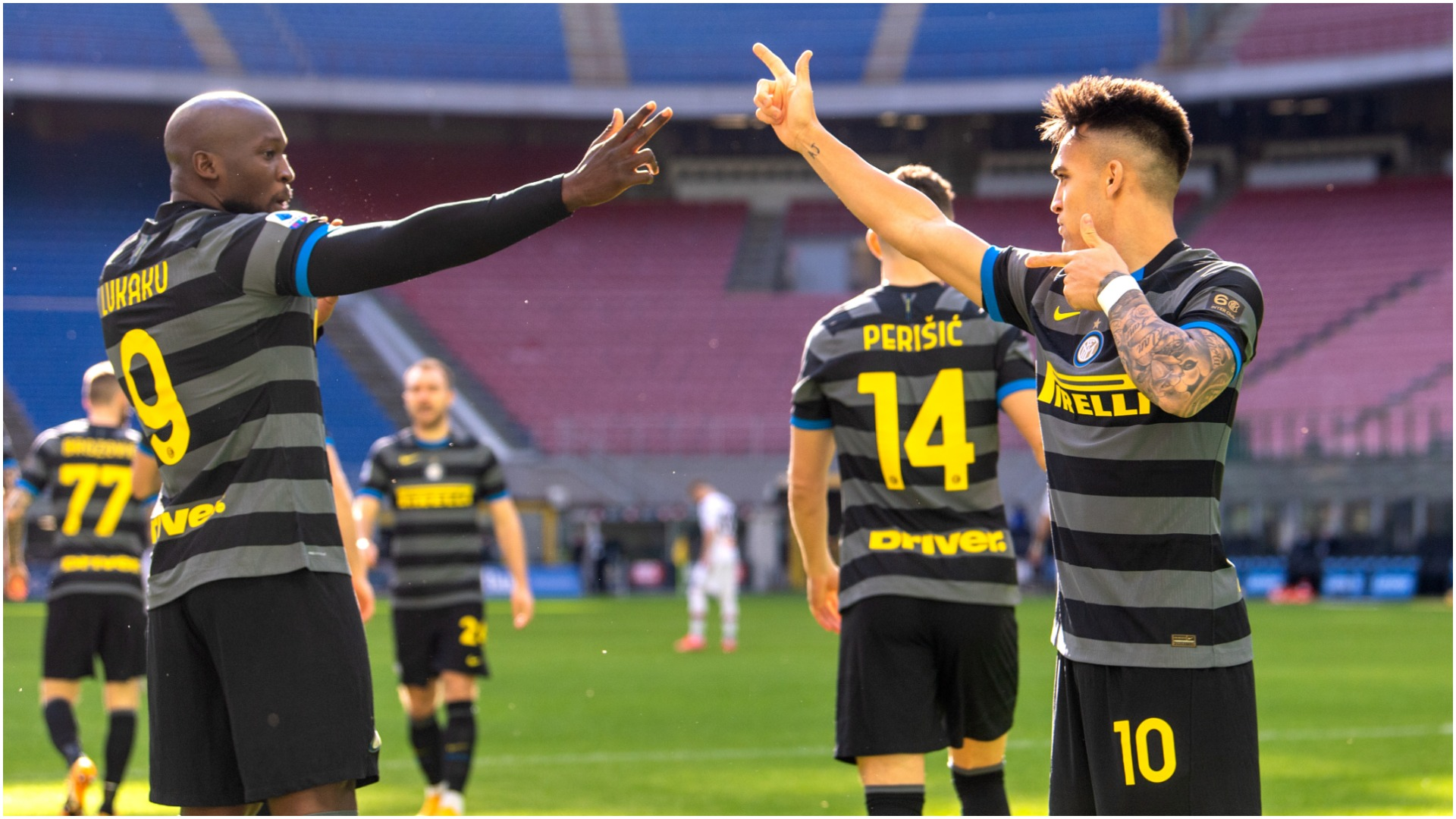 Romelu Lukaku scored after just 32 seconds as leaders Inter registered a fifth consecutive Serie A win against Genoa.