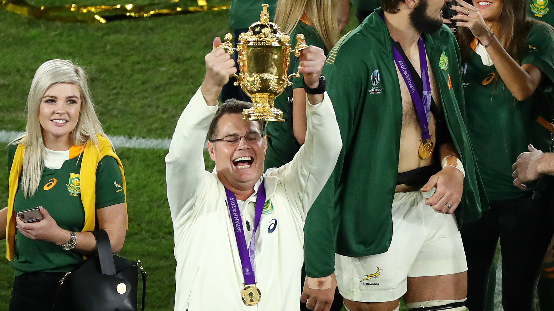 "South Africa's director of rugby Rassie Erasmus says the world champions are prepared to go to ""option Z"" to ensure they face the Lions."