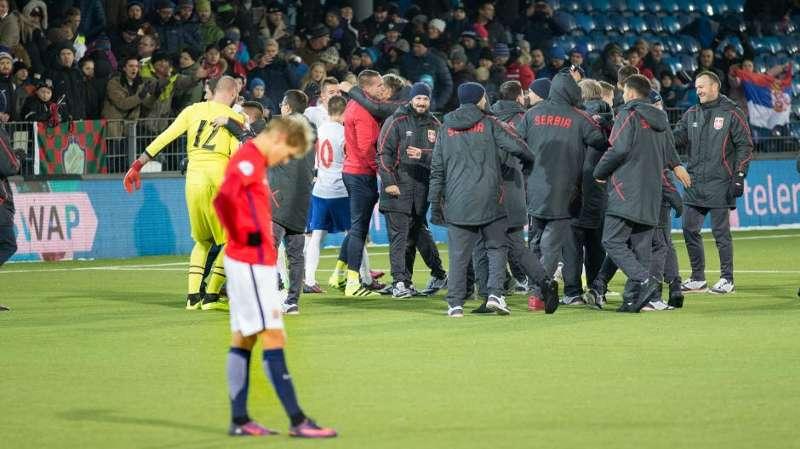 Norge U21 - Serbia U21