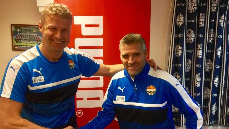 Tor Ole Skullerud og Jostein Flo