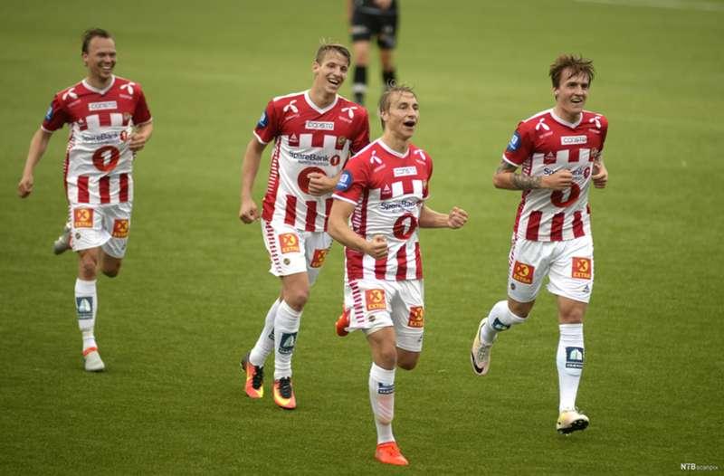 Ulrik, Magnus, Runar og Thomas