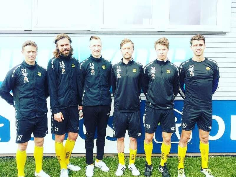 Fredrik Krogstad, Martin Rosenkilde, Thomas Braaten, Christian Aas, Kristoffer Ødemarksbakken og Vetle Dragsnes.