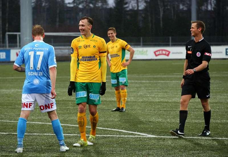 Thomas Braaten og Fredrik Krogstad mot Sandnes Ulf.