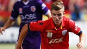 Adelaide youngster Riley McGree has earned a surprise call-up to the Caltex Socceroos.