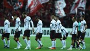 The Wanderers players cut a dejected figure during their ACL defeat against Urawa in Japan on Wednesday night.