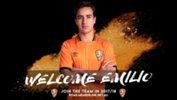 Brisbane Roar have signed young midfielder Emilio Martinez.