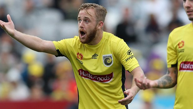 Connor Pain's goal handed Central Coast Mariners a 1-0 win over Wellington Phoenix on Tuesday night.