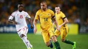 James Troisi starred in Australia's 2-0 win over UAE in Sydney on Tuesday night.