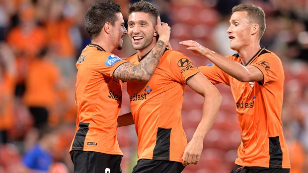 Brandon Borrello has re-signed with Brisbane Roar for a further two seasons.
