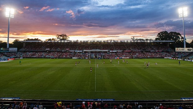 A general view of Parramatta Stadium.