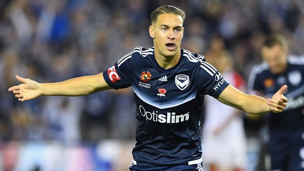 Melbourne Victory's young attacking star Jai Ingham.