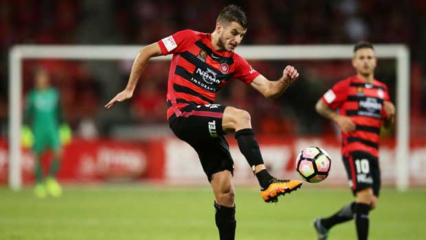 Midfielder Terry Antonis will be a key player for the Wanderers in Friday night's Elimination Final against Brisbane Roar.