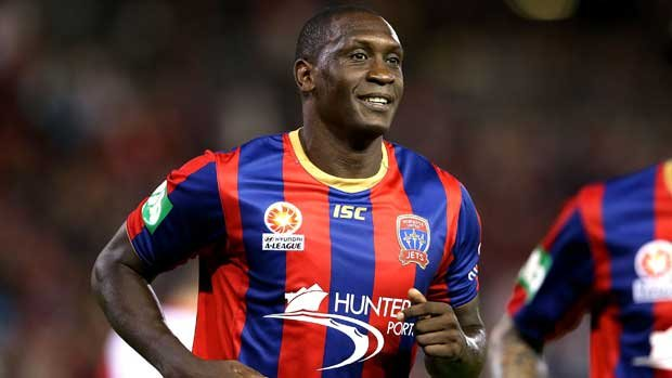 England international played two seasons in the Hyundai A-League with Newcastle Jets.
