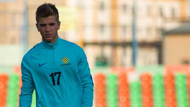 Australian football legend Harry Kewell has urged teenager Riley McGree to seize the chance to become a Caltex Socceroo.