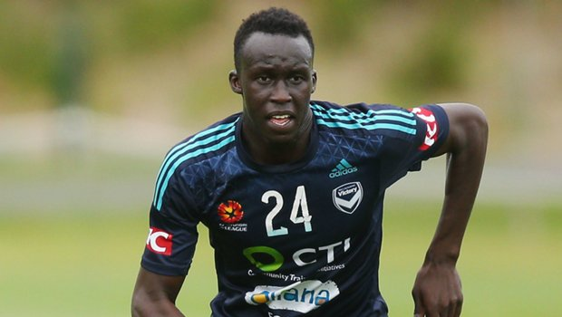 Melbourne Victory youngster Thomas Deng.