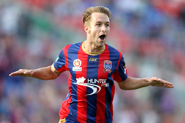 Former Jets striker Adam Taggart claimed last season's Golden Boot Award with 16 goals.