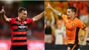 "It's ""Macca"" vs. ""Santa"" in week one of the Hyundai A-League Finals Series this Friday night at Suncorp Stadium when Roar host Wanderers."