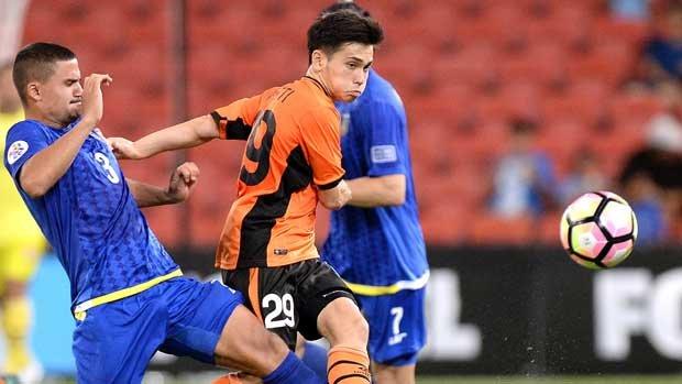 Brisbane Roar midfielder Joe Caletti is this week's NAB One to Watch.