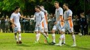 Brisbane Roar downed Lions FC 2-0 on Tuesday night.