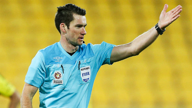 Referee Jarred Gillett has been appointed to officiate Sunday's Hyundai A-League Grand Final.