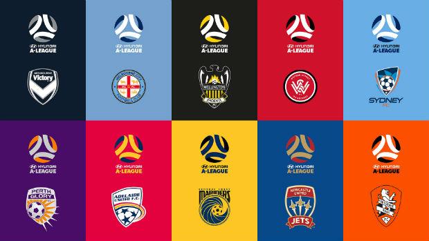 A-League logos