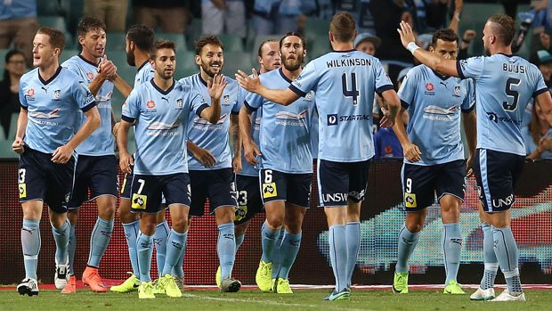 Sydney FC's starting XI was the oldest in the competition on average throughout the 2016/17 season.