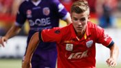 RileyMcGree has been a revelation for Adelaide United this season.