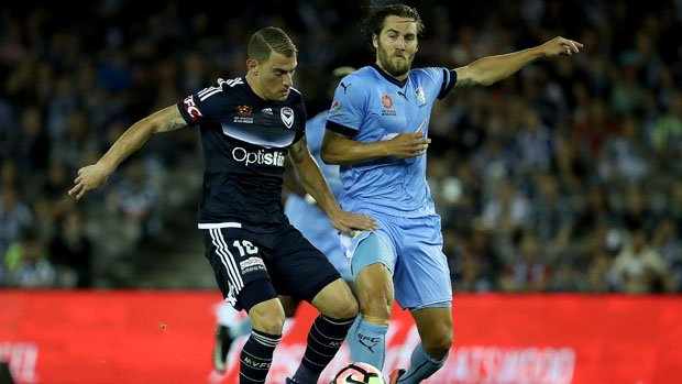 Victory star James Troisi and Sydney FC midfielder Josh Brillante are in contention for a Caltex Socceroos call-up next month.
