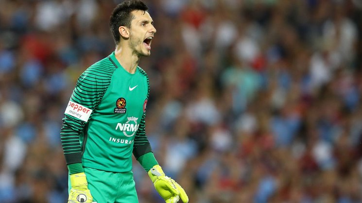 Western Sydney Wanderer Vedran Janjetovic is one of the top five goalkeepers in the Hyundai A-League for FIFA 18.