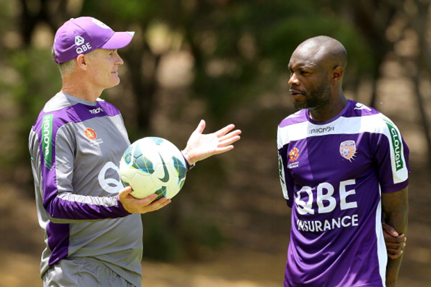 Gallas settling well in Perth
