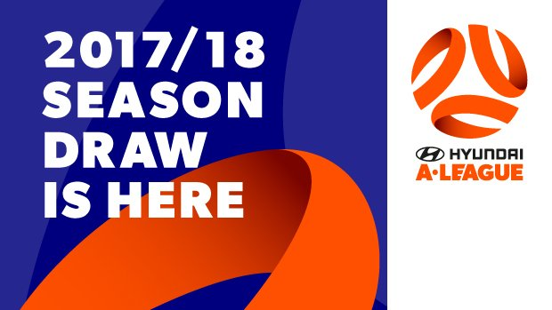 The draw for the Hyundai A-League 2017/18 season has been released.
