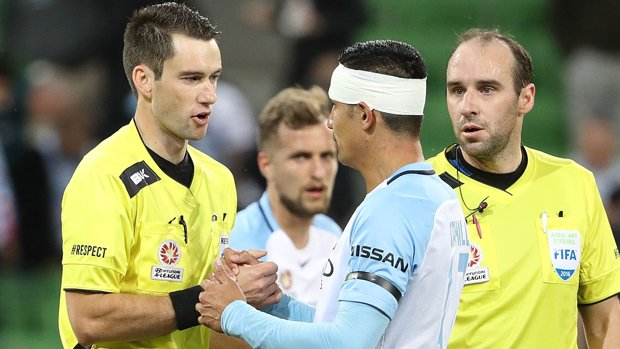 Jarred Gillett will referee the Hyundai A-League 2017 Grand Final between Sydney FC and Melbourne Victory.