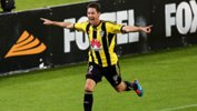 Nathan Burns was named the Hyundai A-League's best in 2014/15.