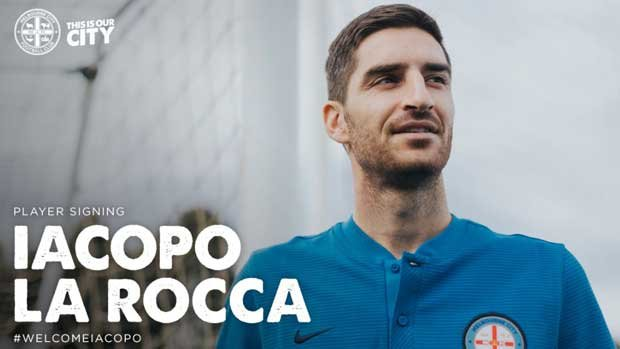 Iacopo La Rocca has signed a two-year deal with Melbourne City.