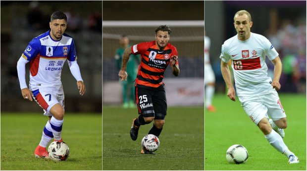 Dimitri Petratos, Chris Herd and Adrian Mierzejewski are all key additions for their respective clubs for the new Hyundai A-League season.