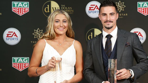 Sydney FC's Remy Siemsen has been named the NAB W-League Young Footballer of the Year.